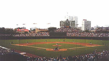Wrigley Field Baseball Park in Chicago